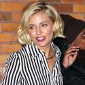 Sienna Miller Looks AMAZING In A Sexy Striped Number