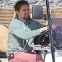 Matt Bellamy Cruises Around The 'Bu In His Oversize Golf Cart