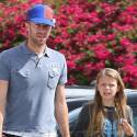 Chris Martin Spends The Day With Daughter Apple