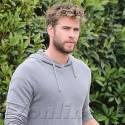 Liam Hemsworth Grabs A Bite In The 'Bu