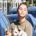 Cara Santana Goes Makeup Free On Her Dog Day Afternoon