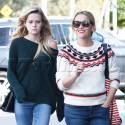 Reese Witherspoon And Her Lookalike Daughter Hang Out Together