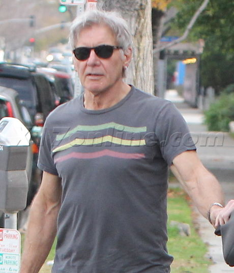 The Force Is Strong With Harrison Ford And His Son - Photos