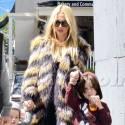 Rachel Zoe Wears Fur To Run Errands WIth Her Sons