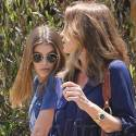 Cindy Crawford And Daughter Kaia Lunch In Malibu