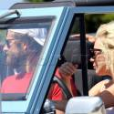 Lady Gaga And Bradley Cooper Cruise Around Malibu