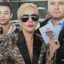 Lady Gaga Arrives In Paris To Perform At The Victoria's Secret Runway Show