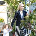 Gwen Stefani Takes Her Kids To Church Before Visiting Their Grandparents