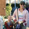 Paula Patton Steps Out with Son Julian Amid Custody Battle With Robin Thicke