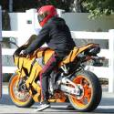 Tyga's New Tiger Motorcycle Is Hot!