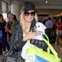Heather Locklear Catches A Flight Out Of LAX