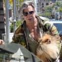 Mickey Rourke And His Dog Have Awesome 'Dos