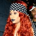 Blac Chyna Wears Polka Dots For Partying