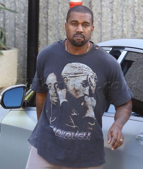 Semi-Frozen Yellow Yeezys! - Kanye West