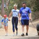 Ben Affleck And Lindsay Shookus Are One Big Happy Family