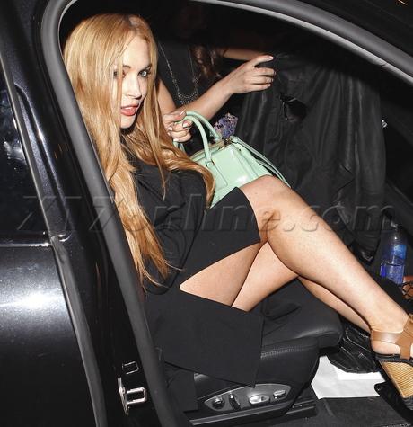Lindsay Lohan legs party pour vous
