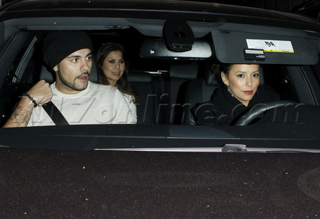 Eva Longoria and Eduardo Cruz Eduardo Cruz chateau marmont Eva Longoria desperate housewives