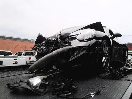 Lindsay Lohan LAPD car accident PCH
