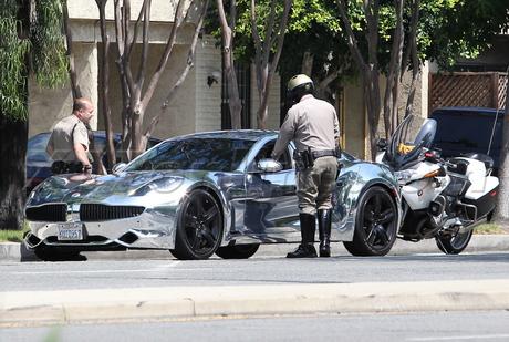 Justin Bieber fisker karma police pulled over ticket selena gomez singer pop star