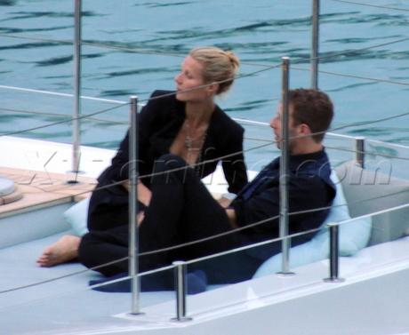 Chris Martin Gwyneth Paltrow Birthday 40th birthday dinner