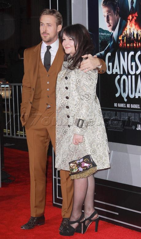 Ryan Gosling  Emma Stone  dress gangster squad