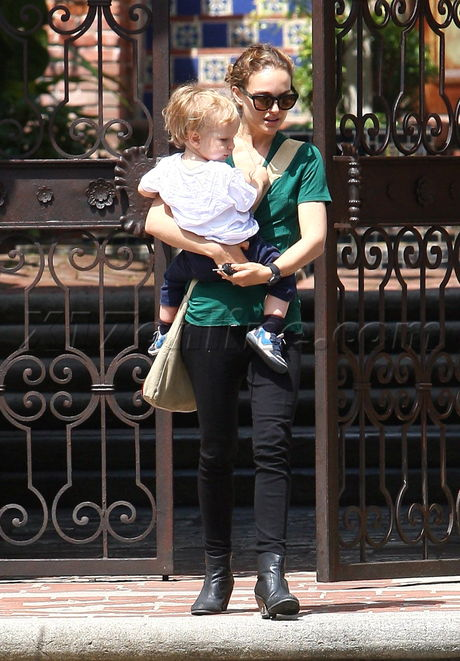 Natalie Portman Aleph Los Angeles