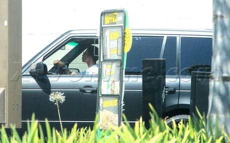 Calabasas Justin Bieber drive through