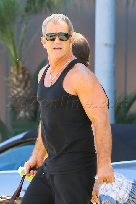Exclusive Photos Mel Gibson Beefs Up His Biceps For His Role In The Expendables 3 X17 Online X17 Online