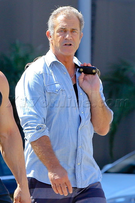 Mel Gibson Bio Identical Hormone Replacement Therapy Expendables 3 DUI check point