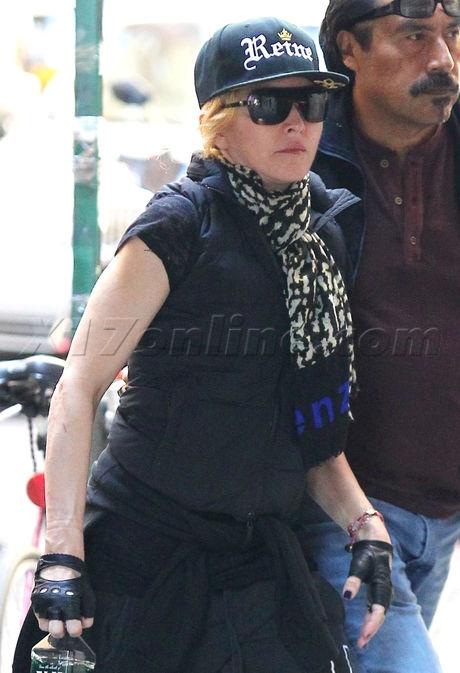 Madonna family Reign Lourdes Kabbalah