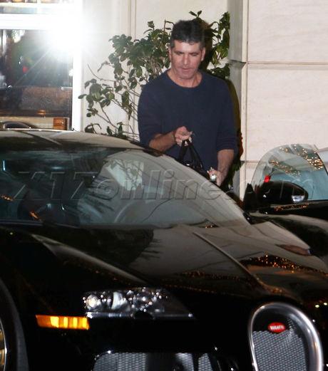 Bugatti simon cowell american idol x factor smile baby shower