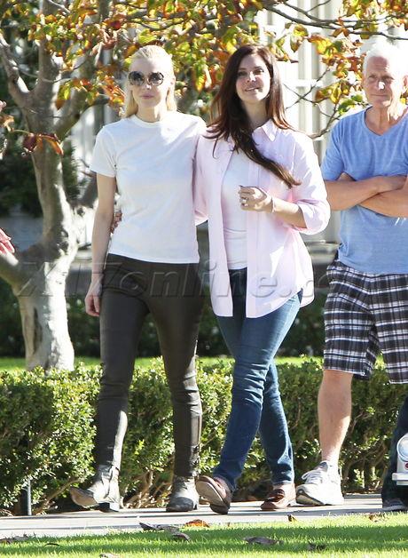 Jaime King baby stroller Lana Del Rey