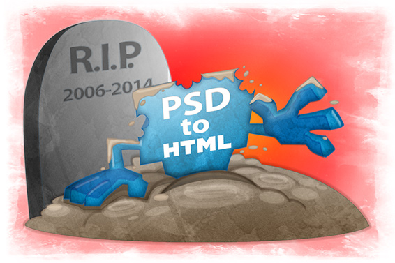 PSD to HTML is Not Dead