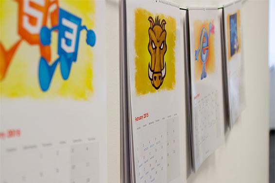 Web Design Calendar 2015