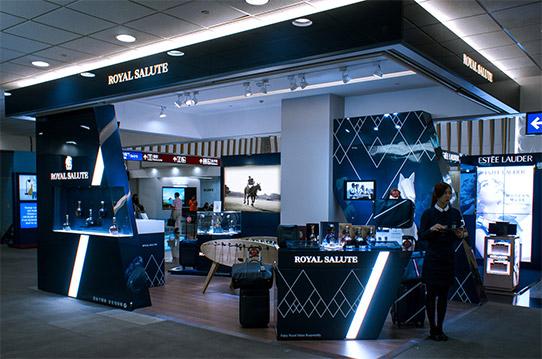Pop-up Store realisation inside Taiwan Taoyuan Airport