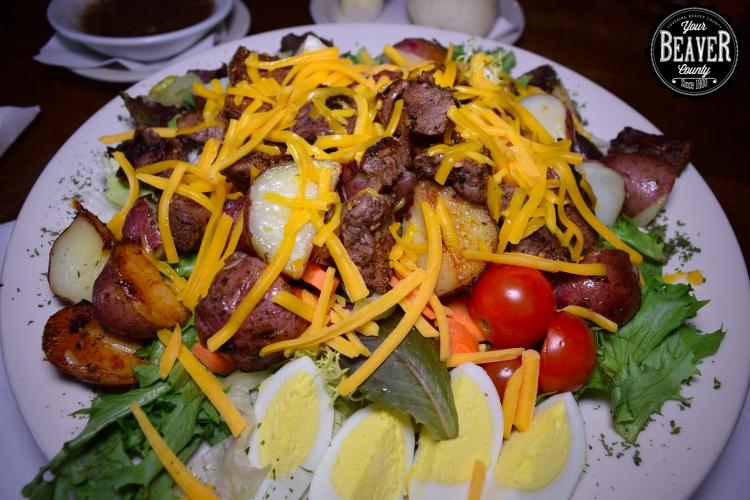 Tinitique Steak Salad
