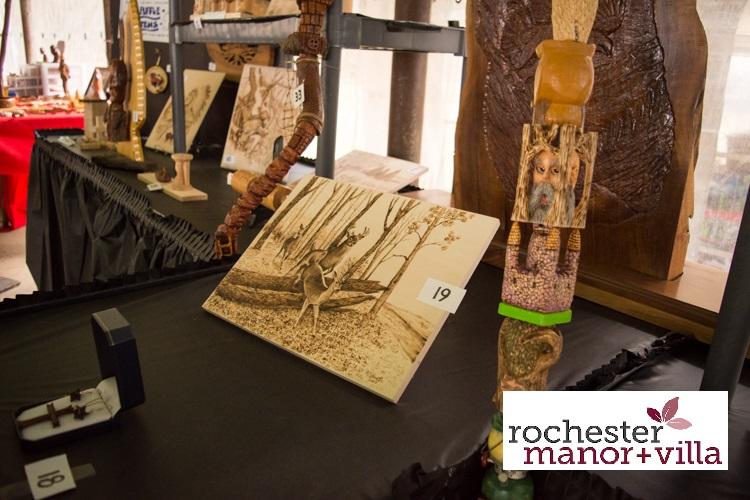 015 Woodcarvers Raffle Table 1
