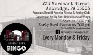 Bridge City Bingo @ Paramount, Inc   Ambridge   Pennsylvania   United States