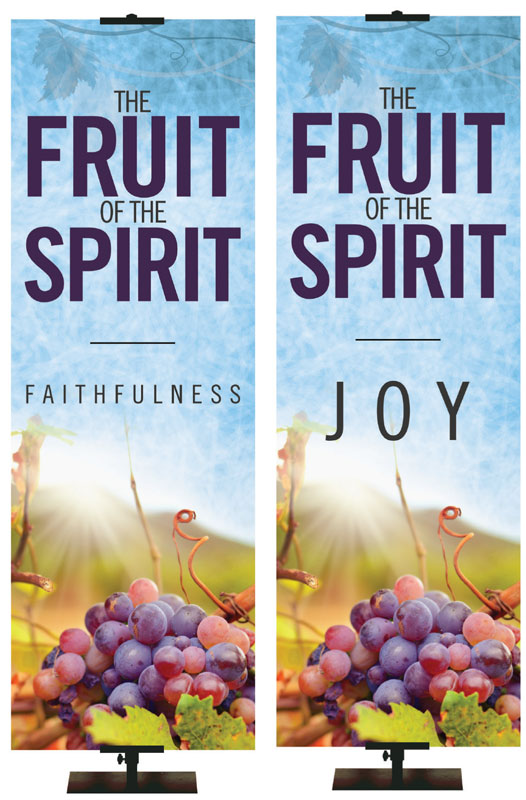 Fruit of the Spirit Economy Banners