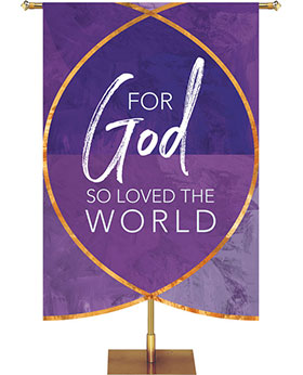 Scripture Silhouettes Sculpted Banner Collection