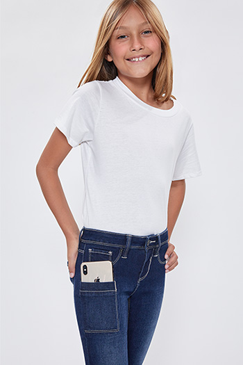 Girls Be True To You Pant With Specialty Smartphone Pocket