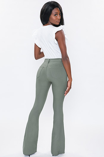 Junior Hyperstretch Forever Color High-Rise Flare
