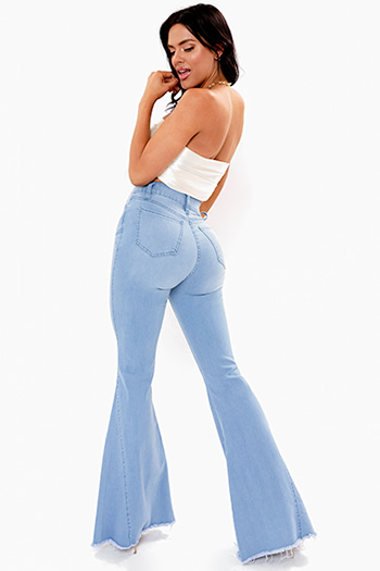 Junior High-Rise Extreme Flare Jean
