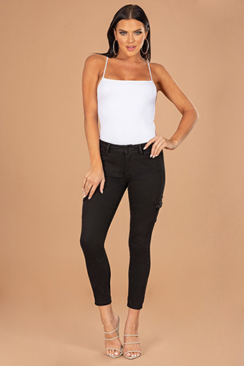 Junior Love Yourself Mid-Rise Cargo Anklet Jean