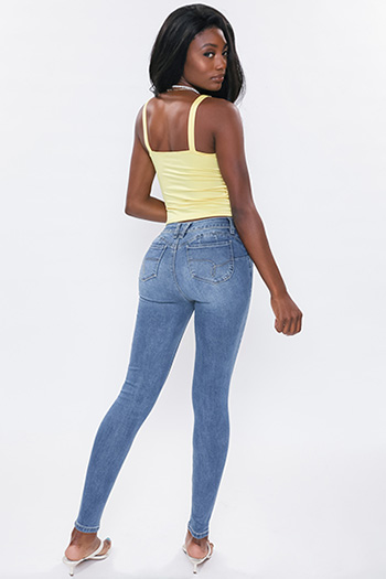 Junior WannaBettaButt Mid-Rise Skinny Jean Made With Recycled Fibers