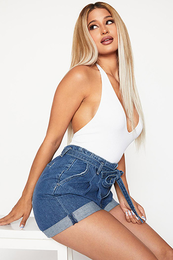 Belted Mom Shorts