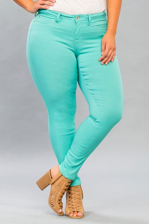 Women Plus Size Hyperstretch Skinny Jean