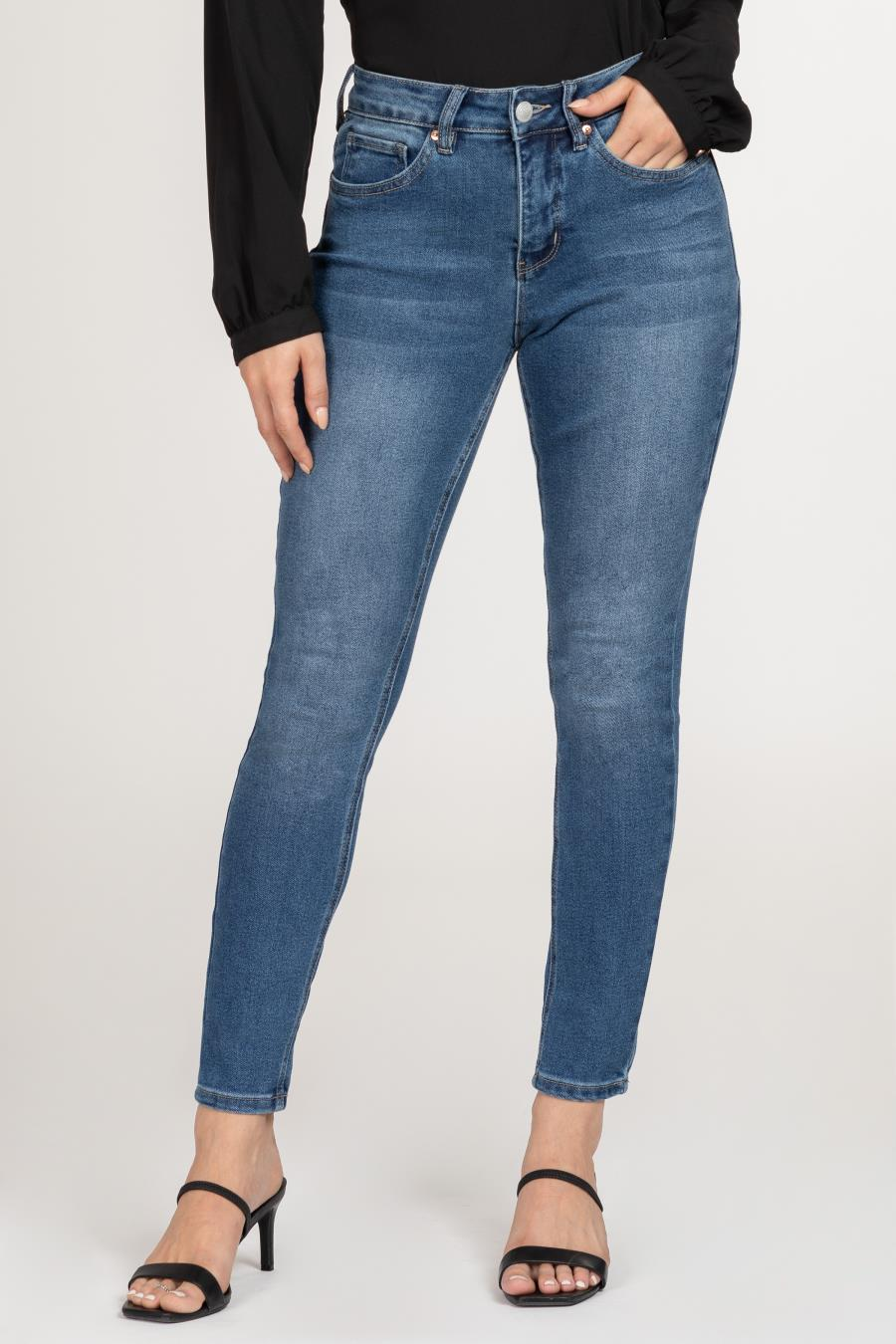 Women Vintage Dream High-Rise Denim Skinny Jean