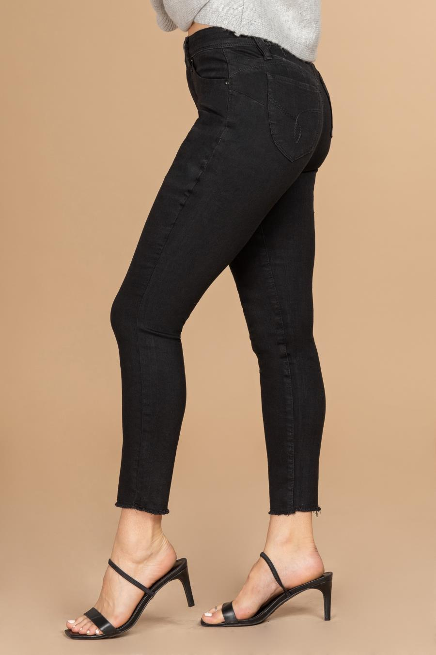 Women WannaBettaButt High-Rise Ankle Jean