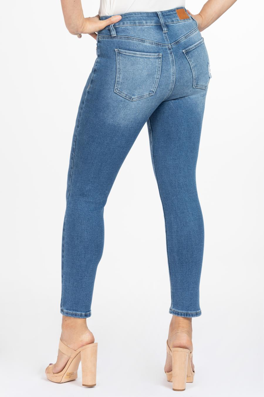 Women Petite Vintage Dream High-Rise Skinny Jean